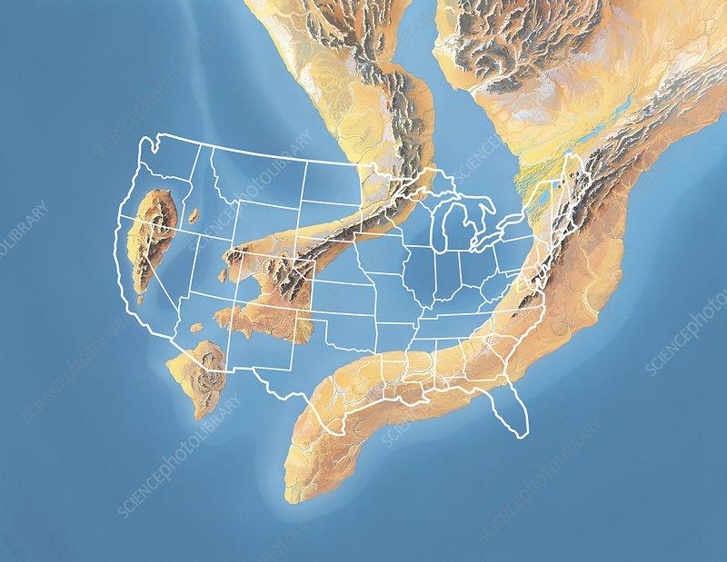 North America, Devonian period