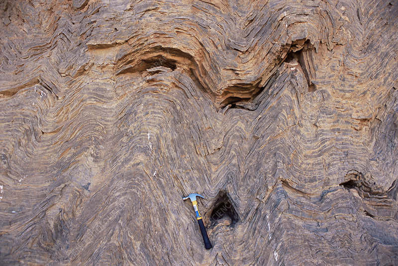 Convolute Bedding Stock Image E410, What Is Convolute Bedding In Geology