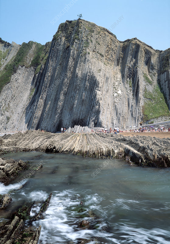 Flysch type sediments