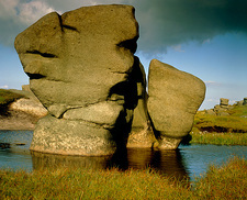The wool packs ( a granite rock formation)