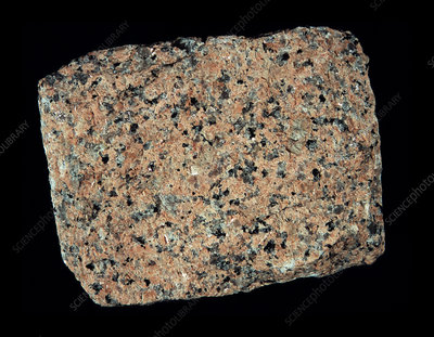 Alkali-feldspar granite rock