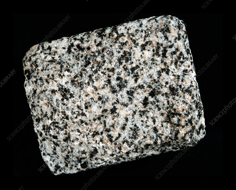 Diorite igneous rock