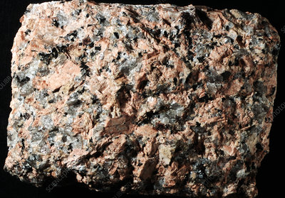 Granite igneous rock