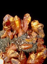 Orpiment on pyrite