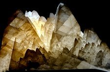 Calcite crystal group