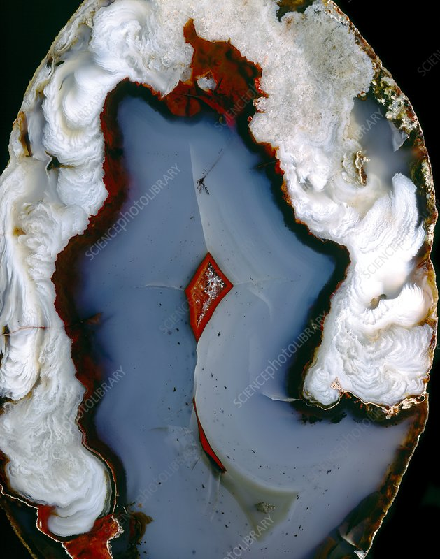 Agate surface