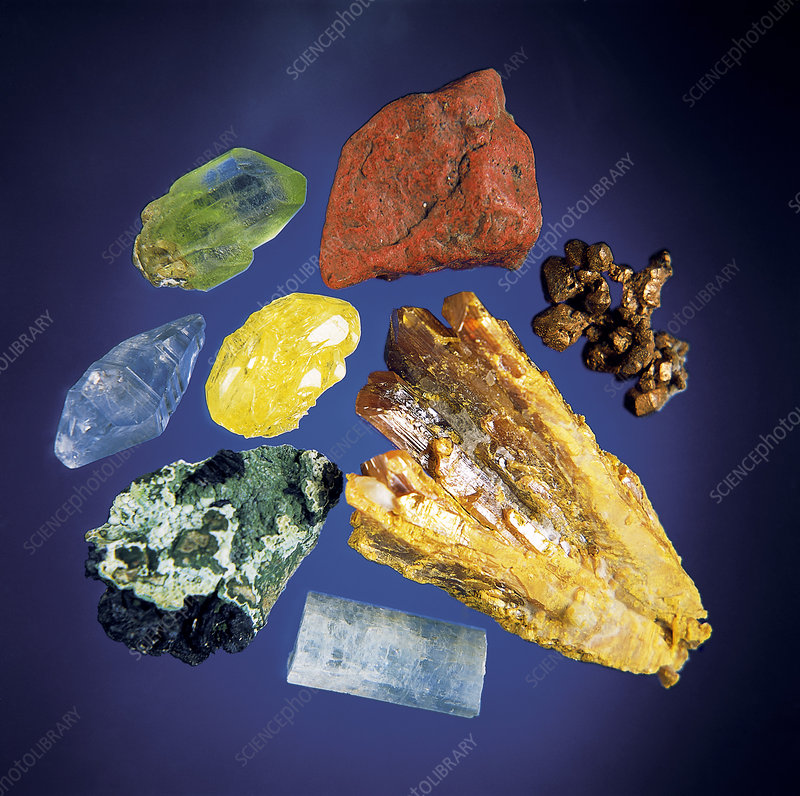 Assorted Minerals