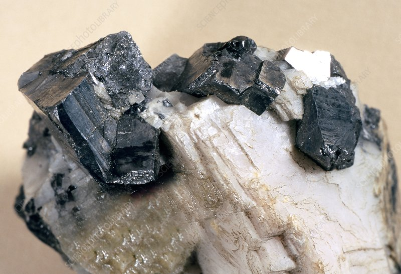 Ullmannite mineral crystals