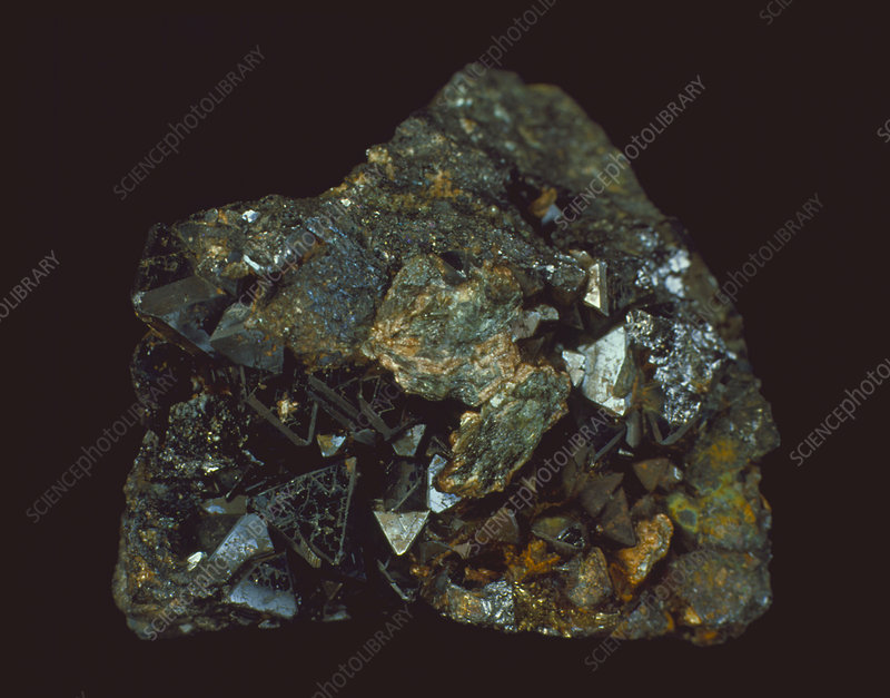 Limonite from Rio Tinto in Spain