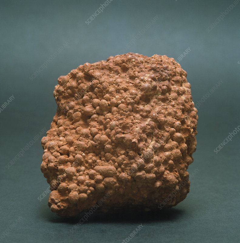 Sample of bauxite