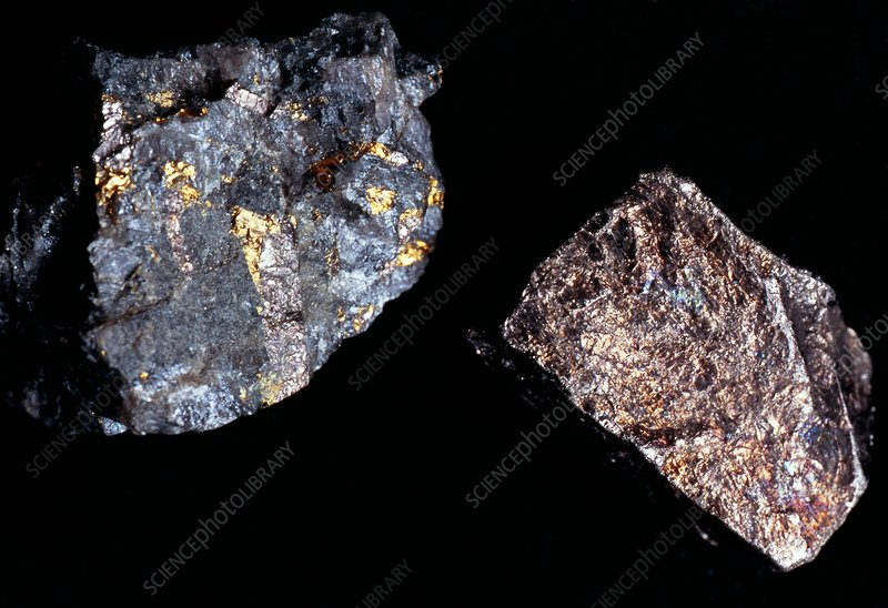 Platinum ore samples