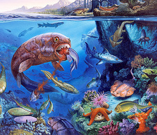 Palaeozoic marine animals