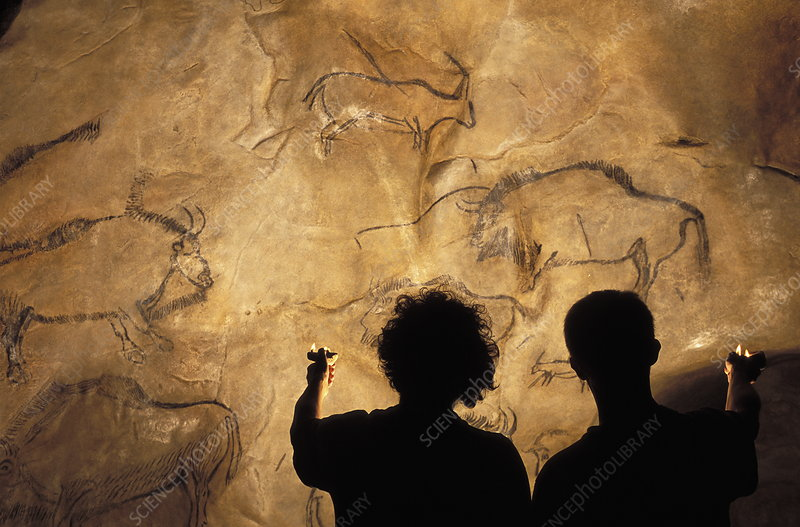 Niaux cave paintings