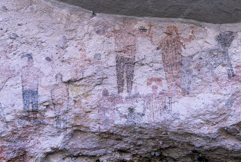 Cave paintings, Mexico
