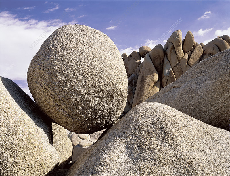Boulder in Joshua Tree National Park
