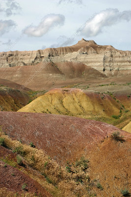 'Badlands, South Dakota'