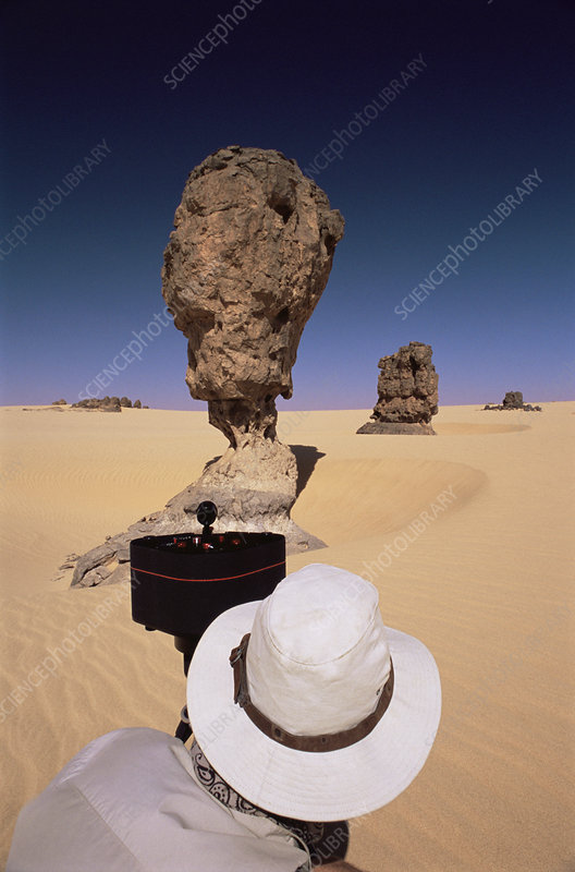 Eroded sandstone pillar