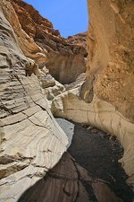 Mosaic slot canyon, Death Valley, USA
