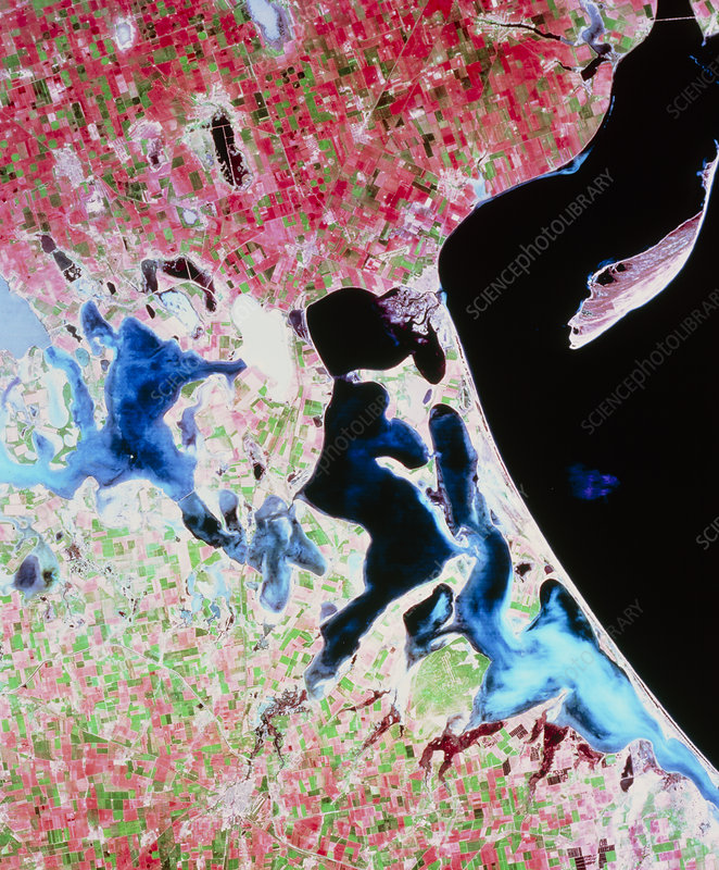 Landsat view of part of Crimean coast