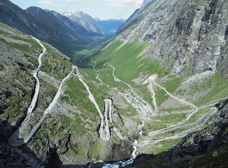 The Trollstigen, Rauma, Norway