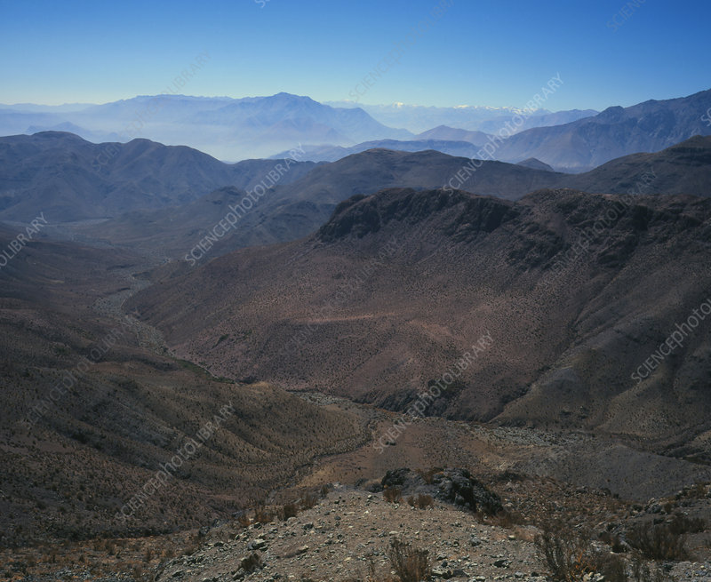 Foothills of the Andes, Atacama Desert, N.Chile