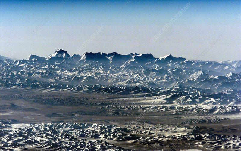 nasa himalayas from space - photo #21