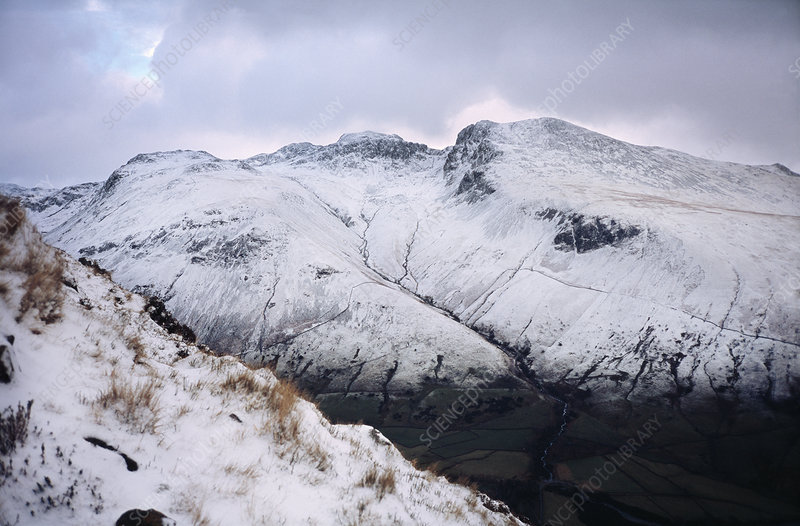 Scafell Pike, England's highest mountain