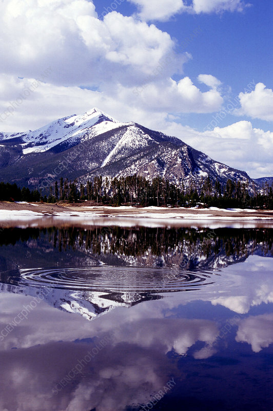 Snowmelt runoff in the Rocky Mountains