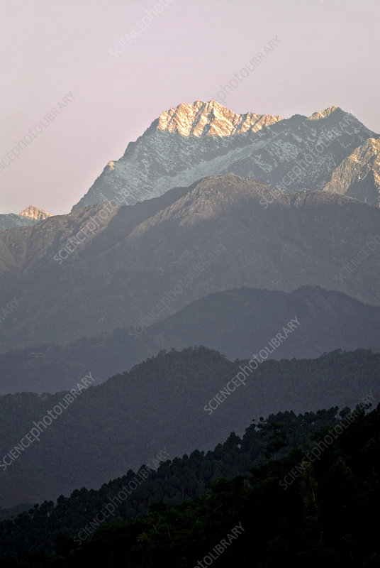 Dhaula Dar mountains