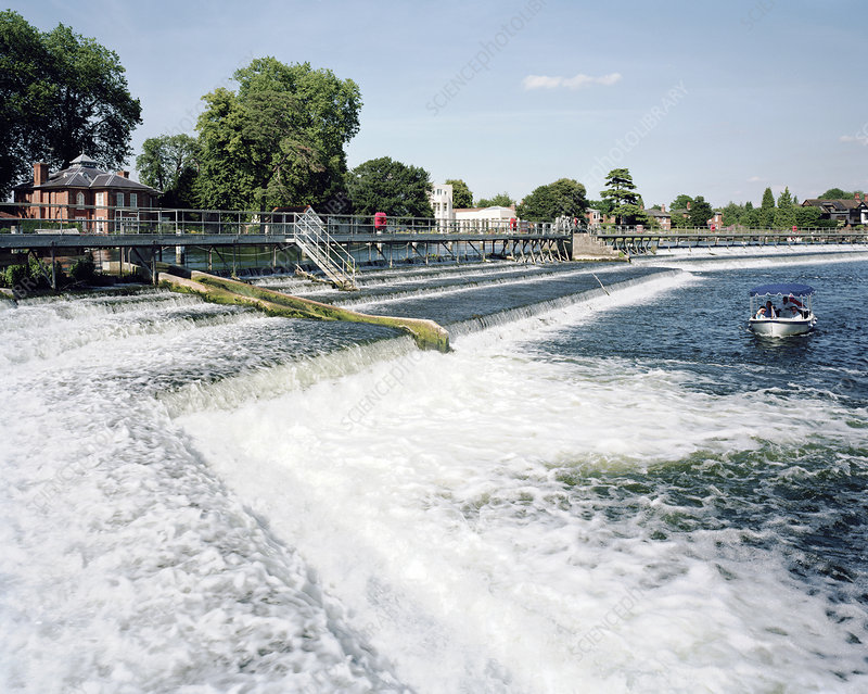 Marlow Weir, River Thames