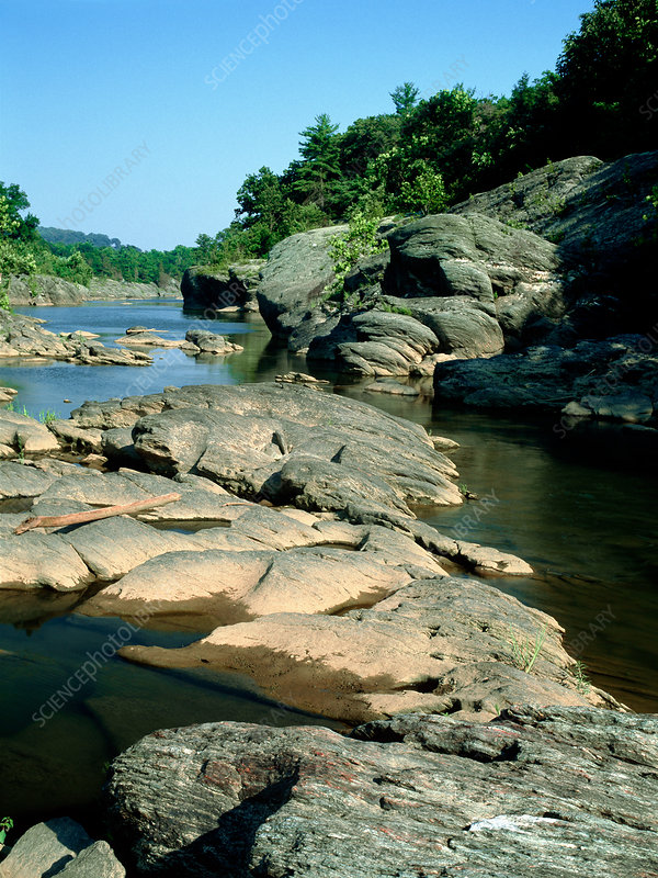 River Hills Stock Image E540 0333 Science Photo Library
