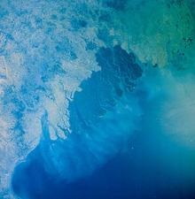 Ganges Delta region, Bangladesh, from space
