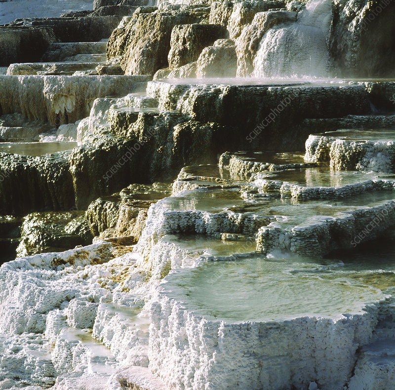 Mineral terraces