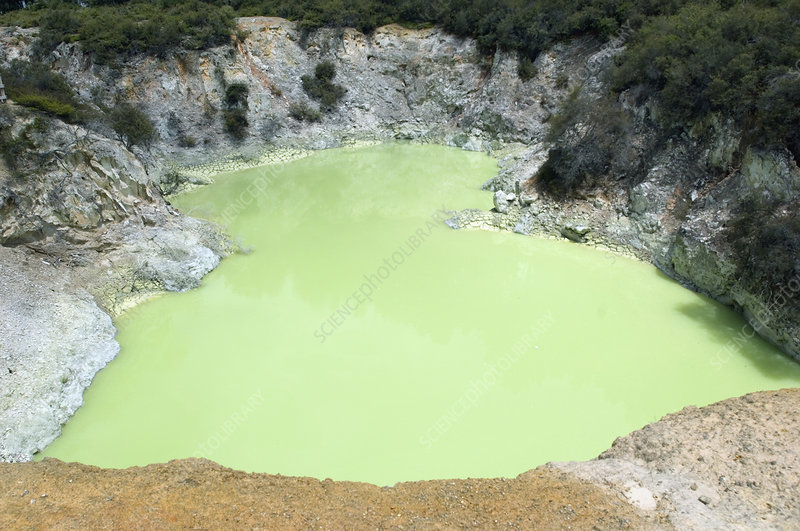 The Devil's Bath, New Zealand