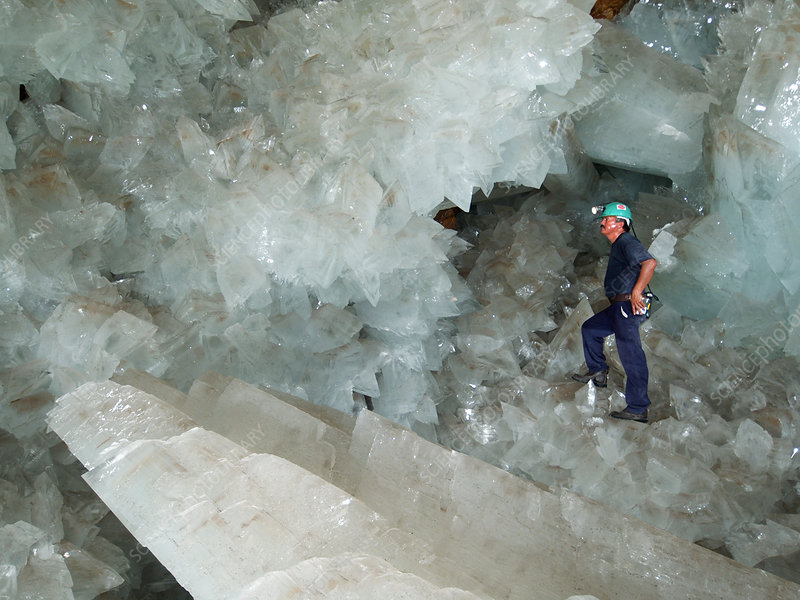 cave of crystals naica mine mexico stock image e580 0038 science photo library