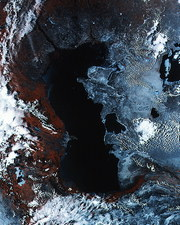 Caspian and Aral Seas, 1994