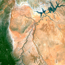 Lake Powell and the Colorado river