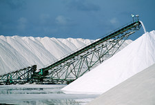 Salt pan industry