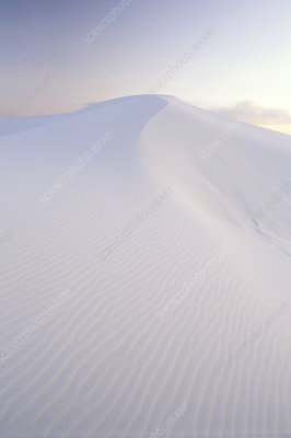 Dune at White Sands National Monument