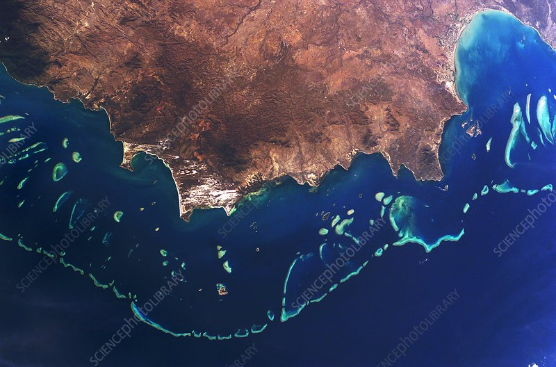 Great Barrier Reef Australia Stock Image E690 0041