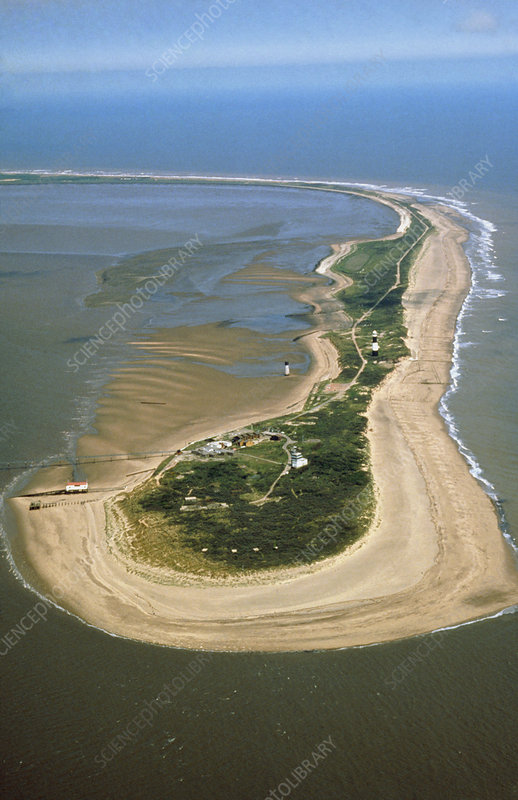 Spurn Head, Humberside, England - Stock Image E710/0013 - enlarged ...