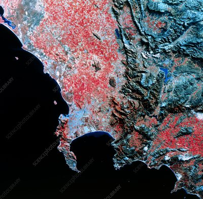 Landsat image of Cape Town and surroundings