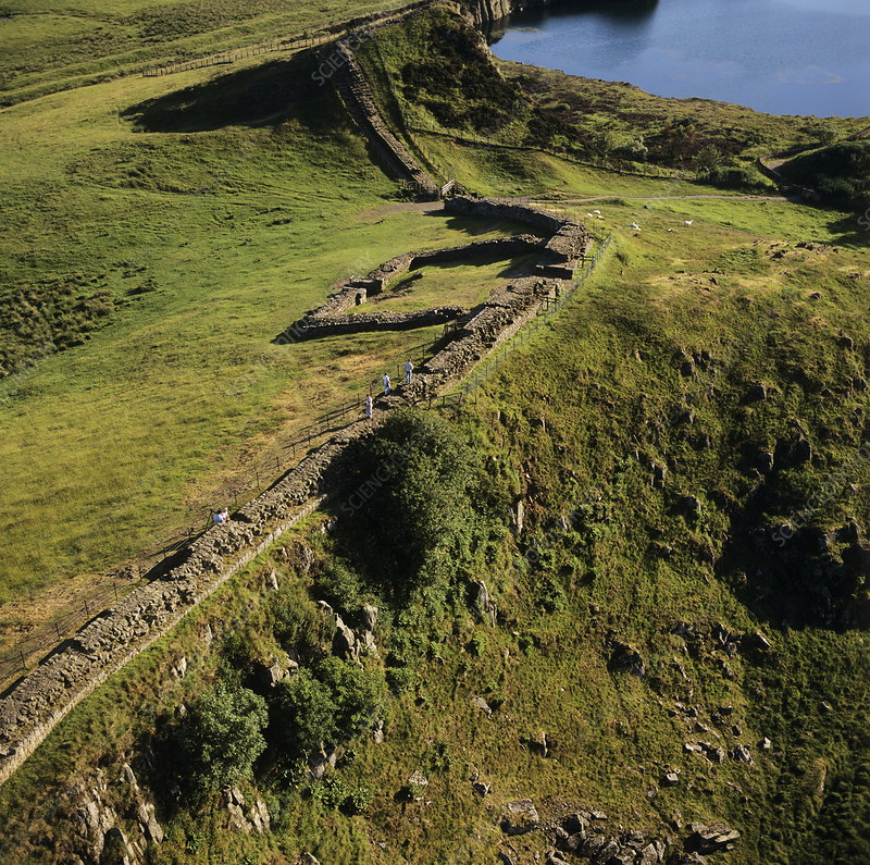 Hadrian's Wall and Cawfields Milecastle