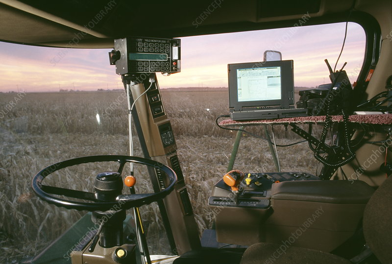 GPS harvest monitor