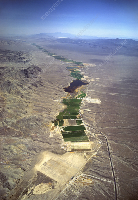 Farmland in Nevada