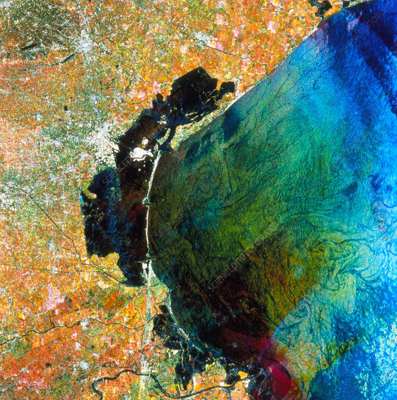 ERS-1 multitemporal image of Venice
