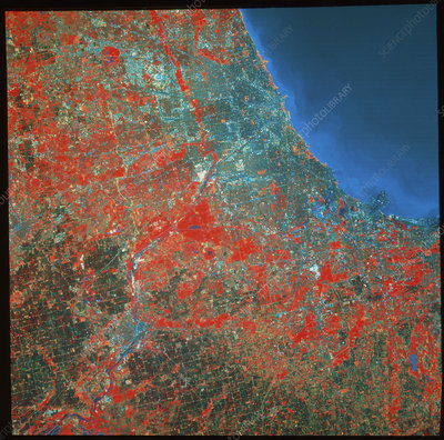Chicago from space