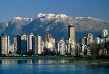 View of Vancouver, Canada