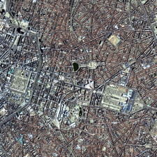 Brussels, satellite image