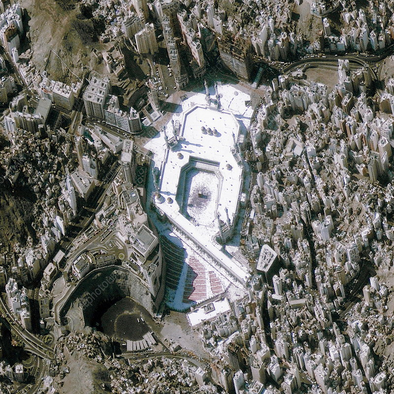 Mecca Saudi Arabia Satellite Image Stock Image E780 0942 Science Photo Library